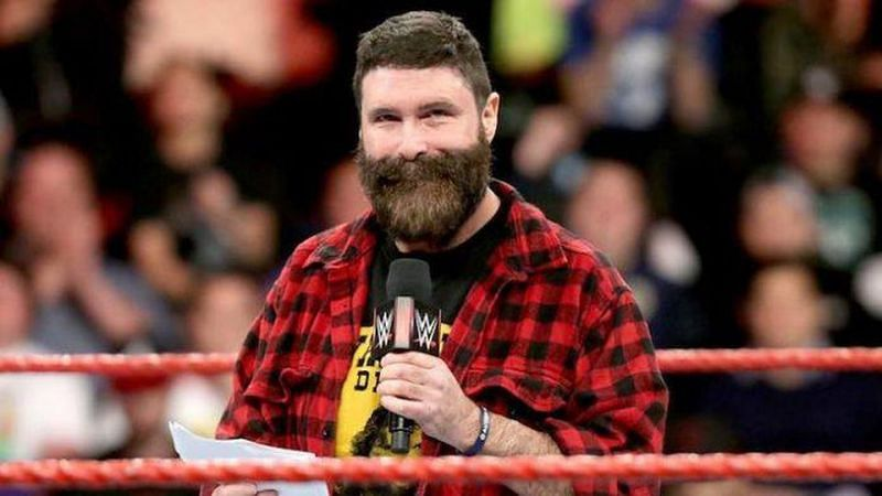 Mick Foley pitched his idea to Vince McMahon