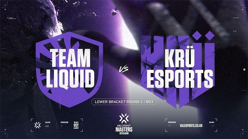 Team Liquid knocked out KRÜ Esports from the Valorant Champions Tour Masters Reykjavik(Image via Valorant Champions Tour KR/Twitter)