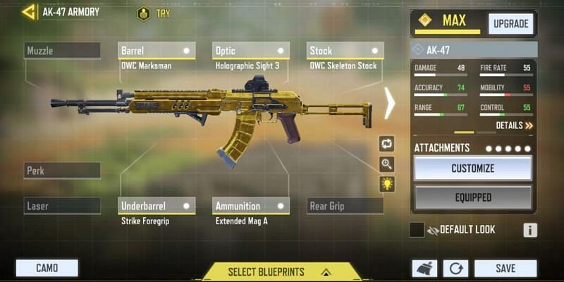 Mid-range - Balanced (Image via Activision)