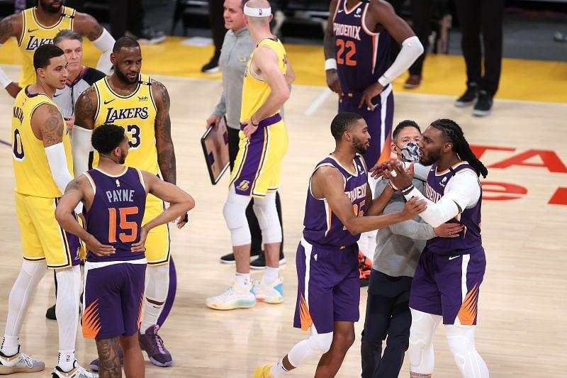 Phoenix Suns vs LA Lakers - Game Three