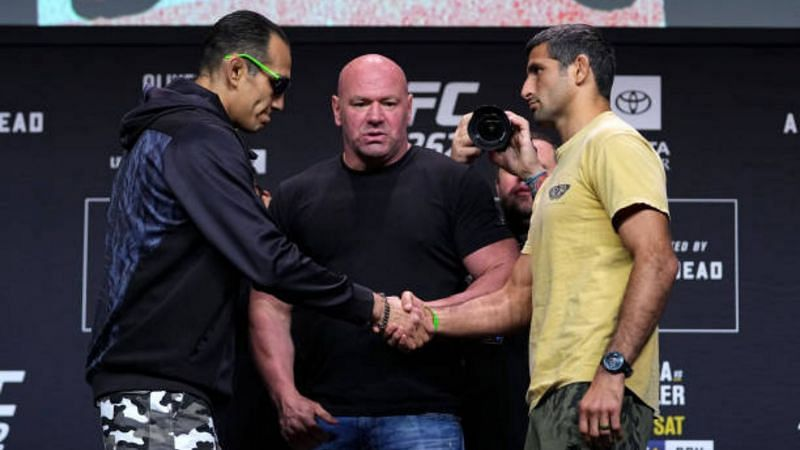 UFC 262 press conference