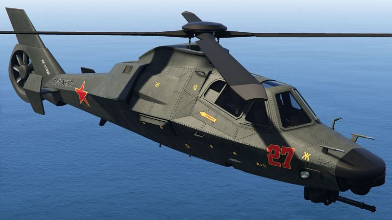 5 fastest helicopters in GTA Online