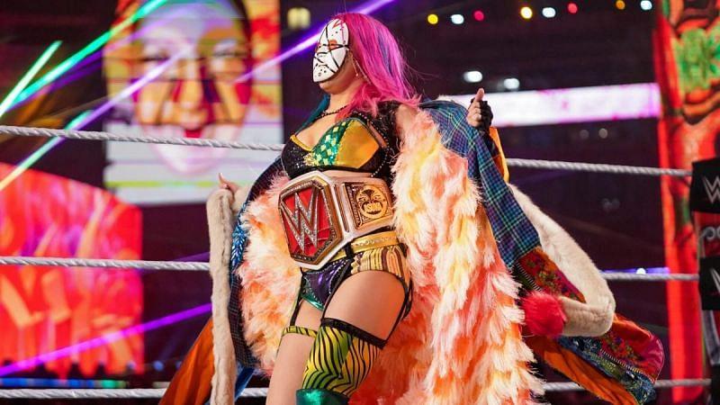 Asuka en WrestleMania 37