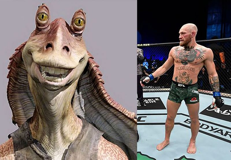 Jar Jar Binks and UFC