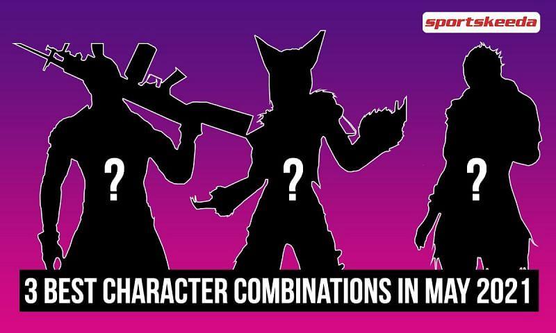 3 best character combinations (Image via Sportskeeda)