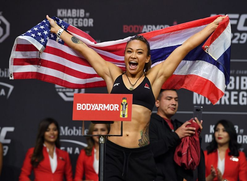 Michelle Waterson faces off with Marina Rodriguez in this weekend