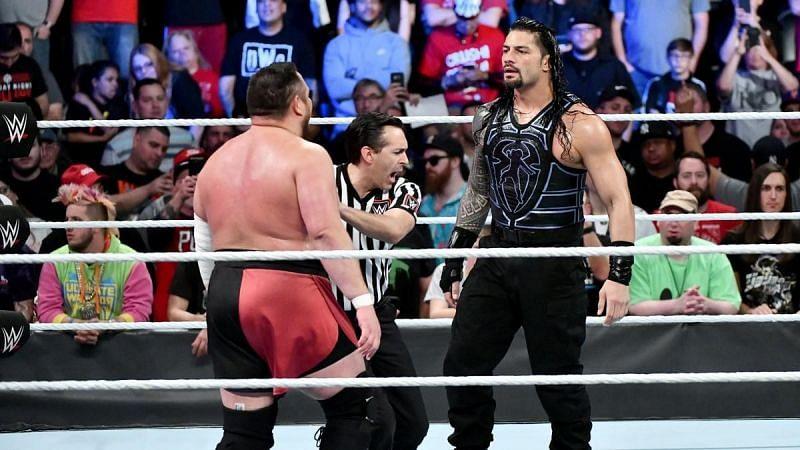 Samoa Joe lost against Roman Reigns at WWE Backlash 2018