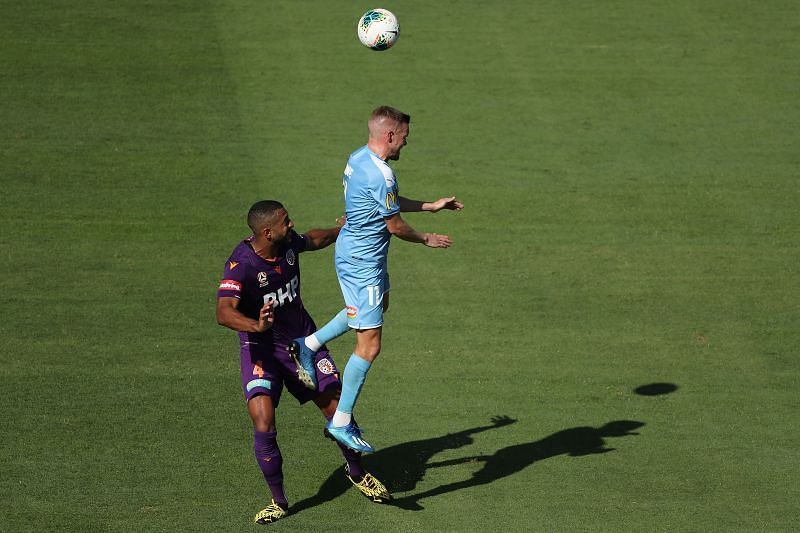 Perth Glory take on Melbourne City this week