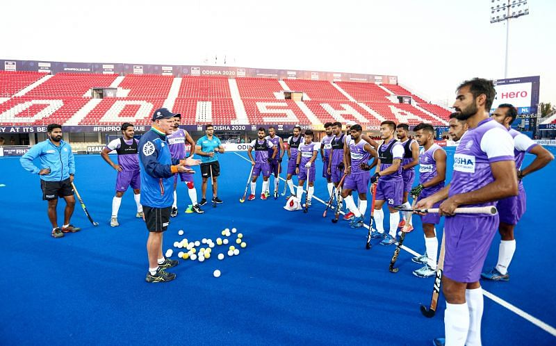 India have been put in Pool A in the Tokyo Olympics. (Source: HI)