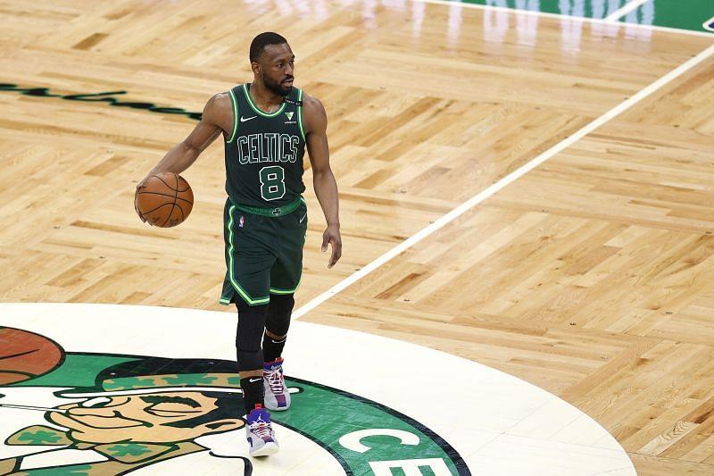 Boston Celtics star Kemba Walker is sidelined due to a neck injury