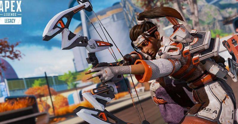 Rampart holding a bocek bow (Image via Electronic Arts)
