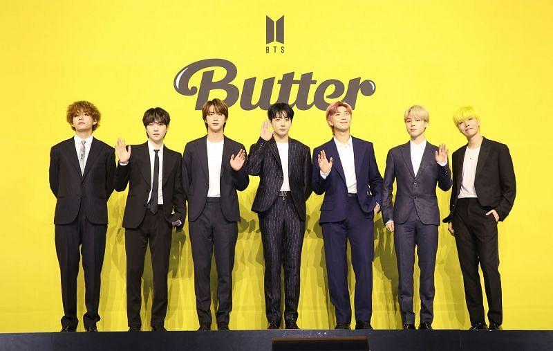 "BTS photo for ""Butter"" (Image via BigHit Music)"