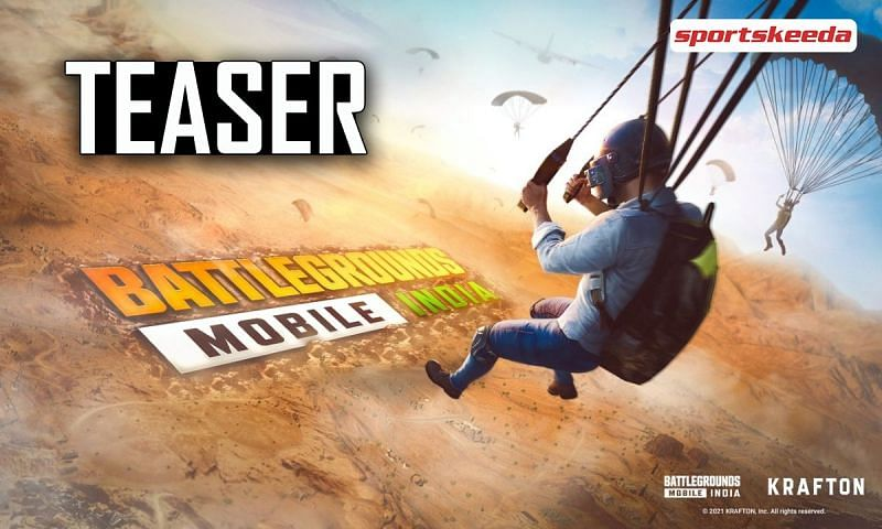 Battlegrounds Mobile India teaser released by KRAFTON on YouTube