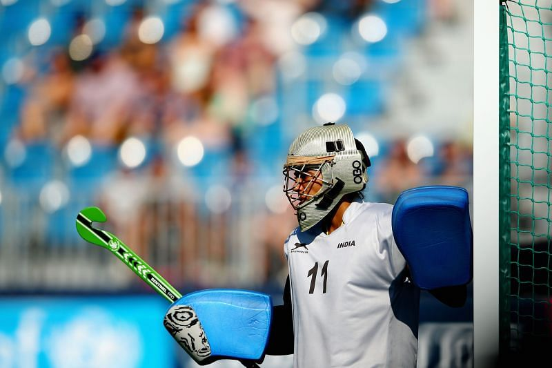 A file photo of India goalkeeper Savita Punia, taken at the 20th Commonwealth Games - Day 1: Hockey