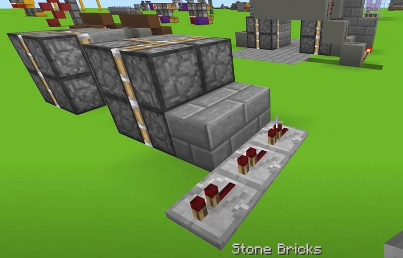 Redstone repeaters placement (Image via YouTube)