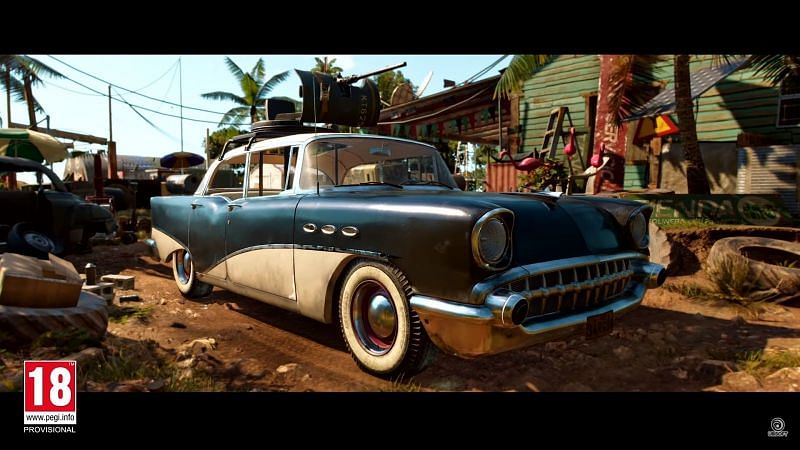 Customizable cars in Far Cry 6 (Image via Ubisoft)