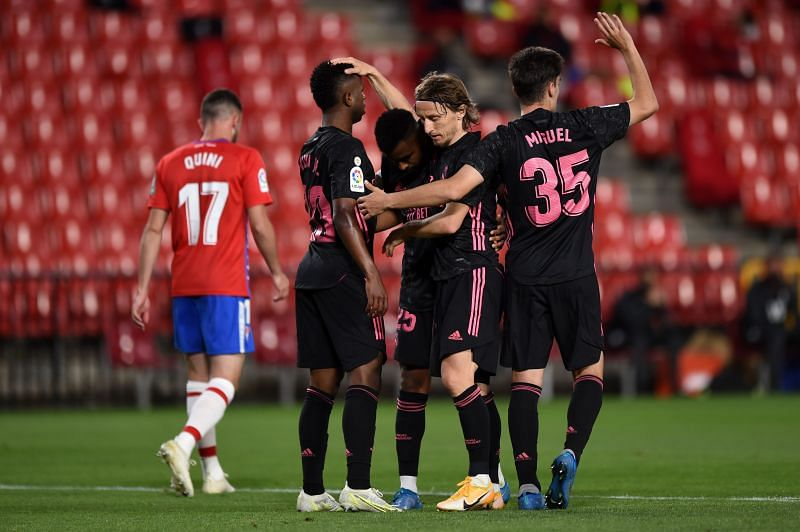 Granada CF vs Real Madrid - La Liga Santander