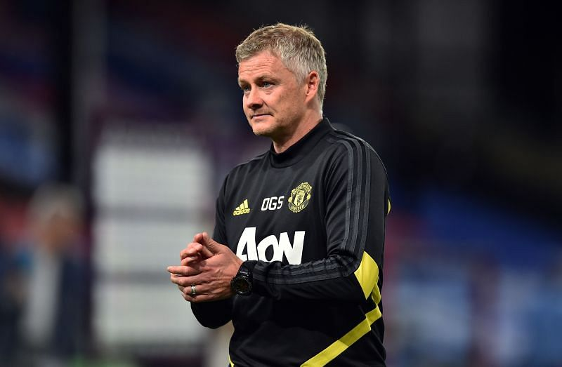 Manchester United manager Ole-Gunnar Solskjaer. (Photo by Glyn Kirk/Pool via Getty Images)