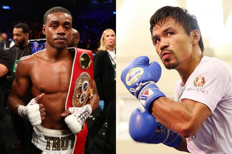Errol Spence Jr. and Manny Pacquiao