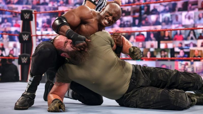 Bobby Lashley took on Braun Strowman in the RAW main event