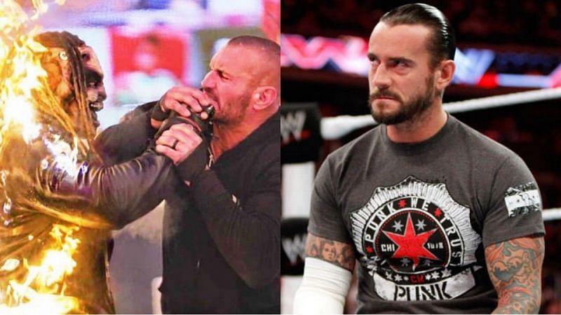 द फीन्ड, रैंडी ऑर्टन और पूर्व WWE सुपरस्टार सीएम पंक