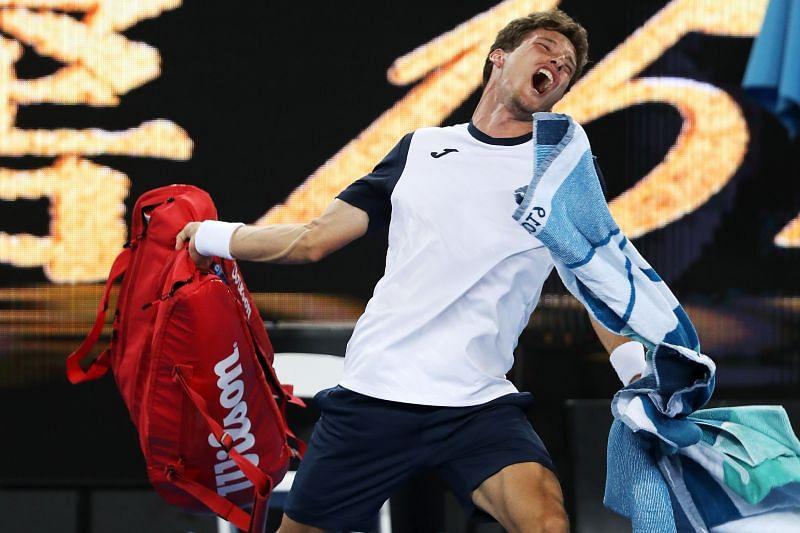 Pablo Carreno Busta at the 2019 Australian Open