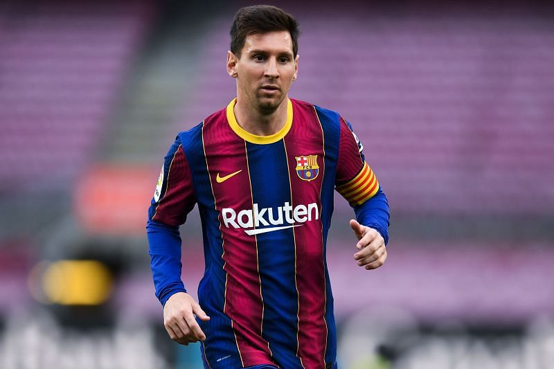 Lionel Messi will be out of contract in a few days