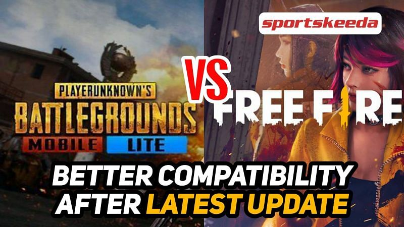 Is PUBG Mobile Lite or Free Fire better for low-end Android devices after the latest update?