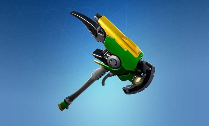 Emerald Smasher Pickaxe in Fortnite (Image via Pro Game Guides)