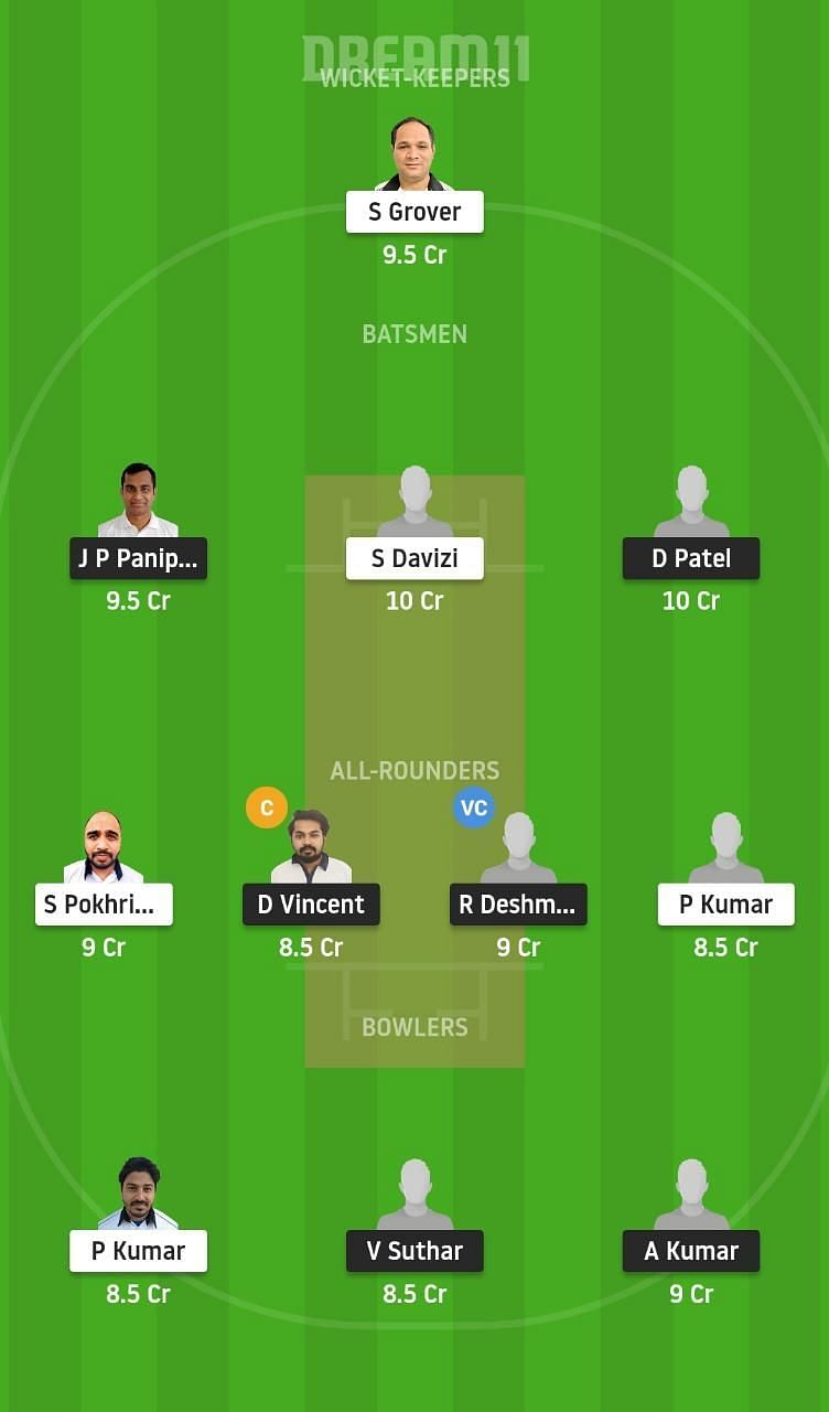 PCR vs PBV Dream11 Tips ECS T10