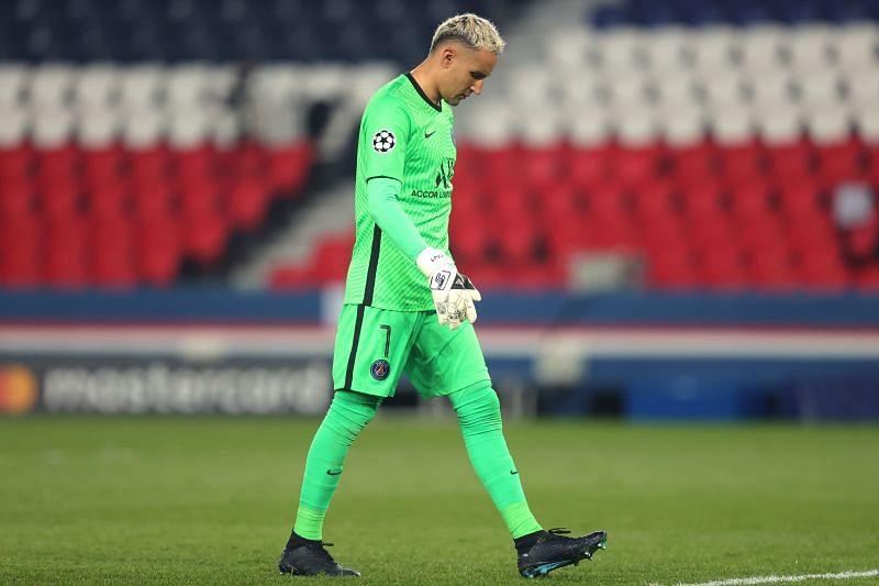 Paris Saint-Germain goalkeeper Keylor Navas