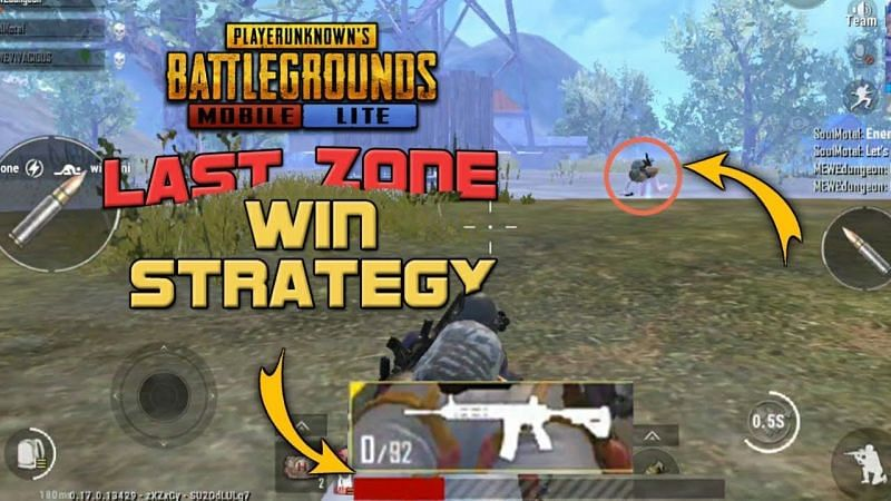 Players must pick a spot that is away from the boundary of the danger zone (Image via Dungeon