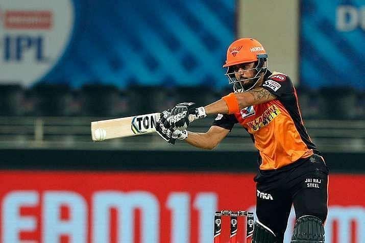 Manish Pandey Pic: IPLT20.COM