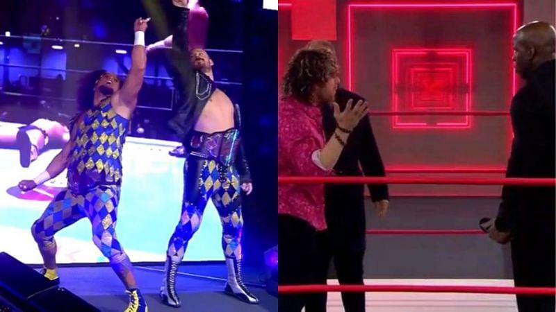 FinJuice defend before leaving for Japan; Kenny Omega confronts Moose