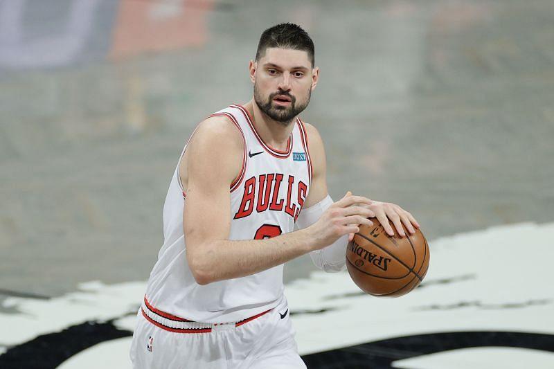 Nikola Vucevic #9 of the Chicago Bulls.