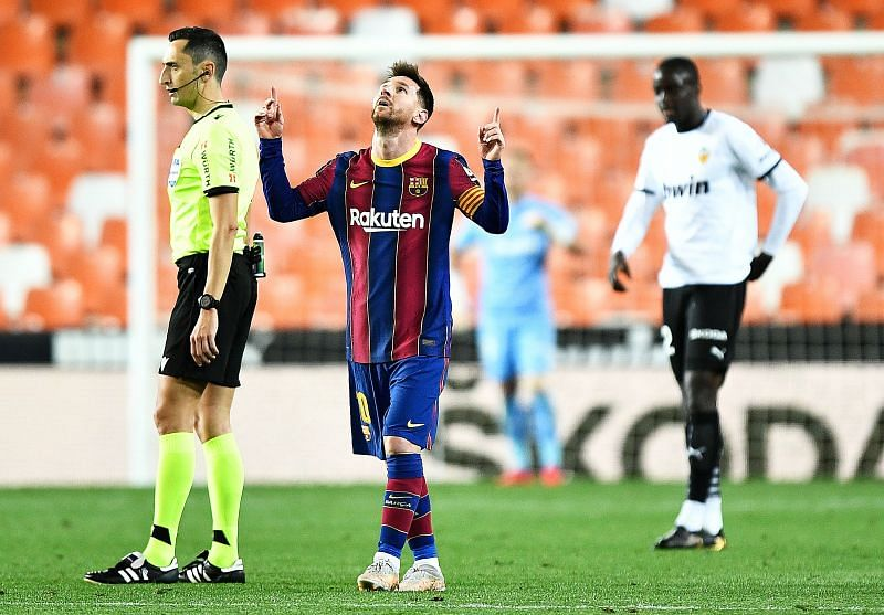 Messi has now scored 50 free-kicks in his career. FIFTY!