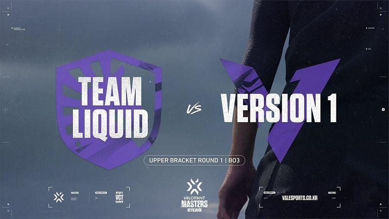 Team Liquid lose to Version 1 in the Valorant Champions Tour Masters Reykjavik(Image via Valorant Champions Tour KR/Twitter)\