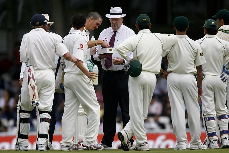 Pakistan forfeited the 2006 Oval Test over ball-tampering allegations