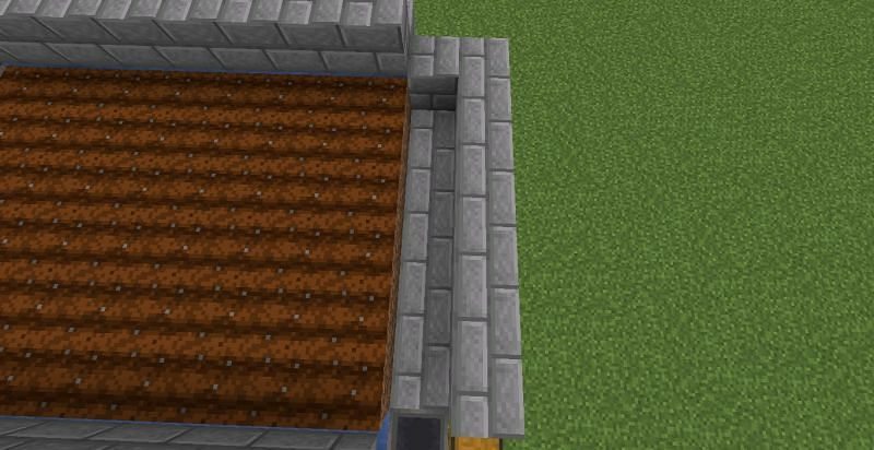Time to make collection system (Image via Minecraft)
