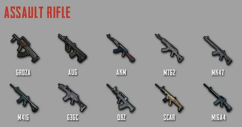 Players must have a good sense of which weapons are suitable for a particular situation (Image via Zilliongamer)