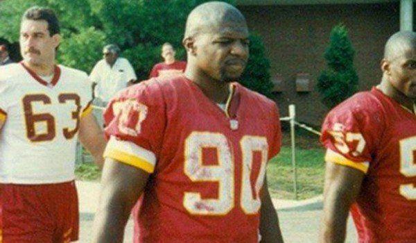 Former Washington Football Team LB Terry Crews