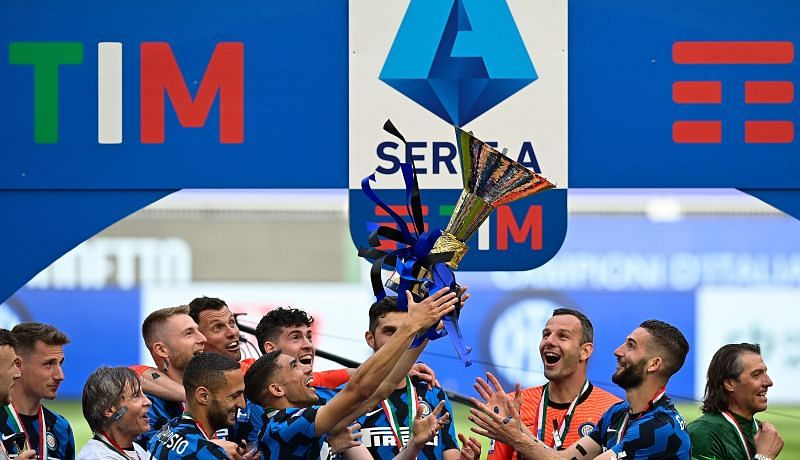 Inter Milan won the Serie A title dethroning Juventus for the first time since 2011.