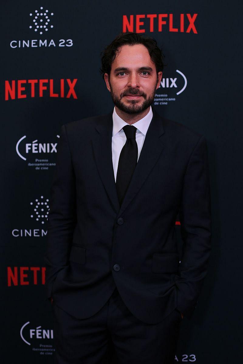 Manolo Cardona at the Netflix Award - Opera Prima (Image via Getty)