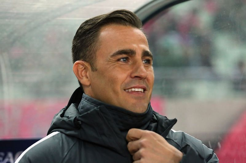 Fabio Cannavaro is the Guangzhou FC manager
