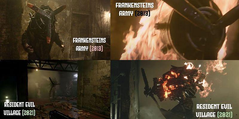 Did Resident Evil Village steal Richard Raaphorst's design? (Image via Richard Raaphorst, Linkedin)