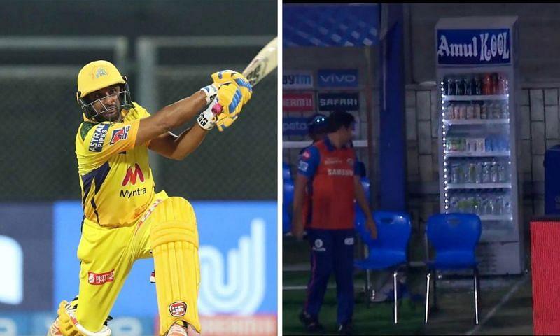 Ambati Rayudu caused destruction, literally, with his batting against MI