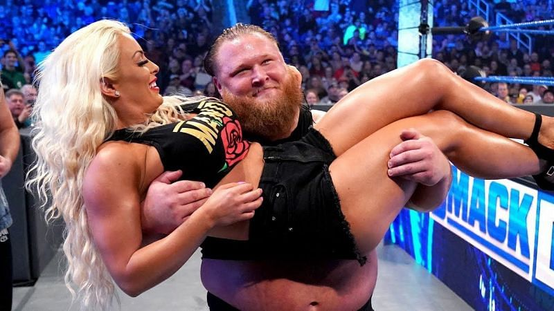 Otis was involved in a romance storyline with Mandy Rose in 2019 and 2020