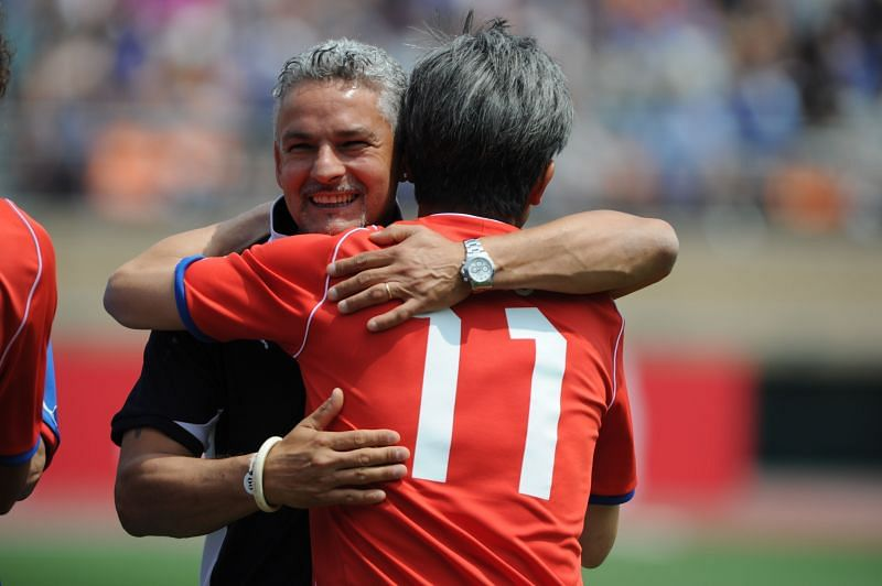 Roberto Baggio is one of the greatest Italian footballers of all time