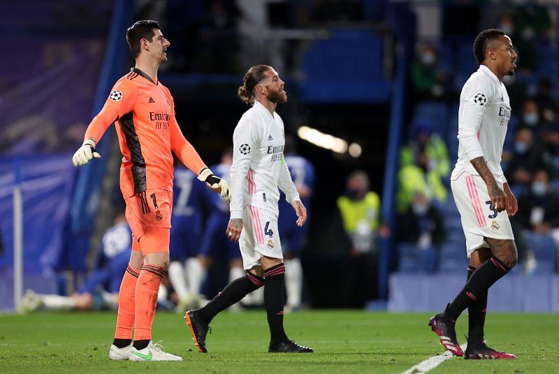 Real Madrid have several injury concerns