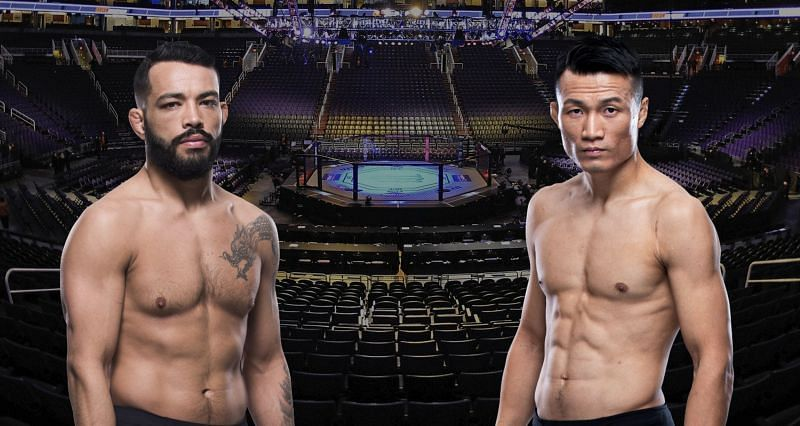 Dan Ige (Left) and Chan Sung Jung (Right) are set to fight on June 19